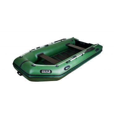 Надувная лодка Ладья ЛТ-330МВЕ со сланью-книжкой и передвижным сиденьем