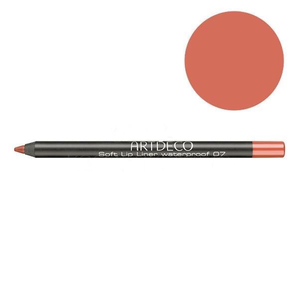 Водостойкий карандаш Artdeco Soft Lip Liner Waterproof 07 Розовое дерево