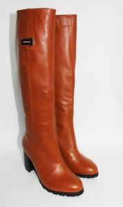 Фото Сапоги (демисезон и зима) натуральная кожа (под заказ) Сапоги из натуральной кожи