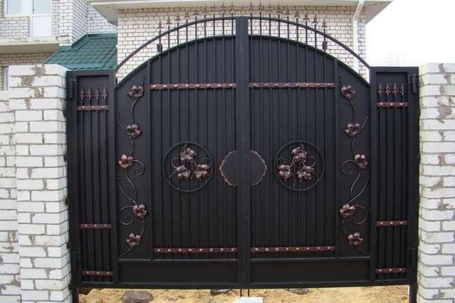 Ворота, наши варианты исполнения