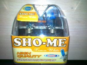 Фото Автомобильные галогеновые лампы Галогеновые лампы SHO-ME