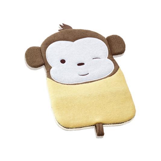 (28669)Рукавица-мочалка «Смешная обезьянка»