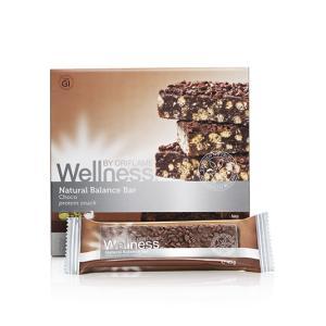 Фото WELLNESS, Контроль веса (25385)Протеиновый батончик «Нэчурал Баланс» - Шоколад