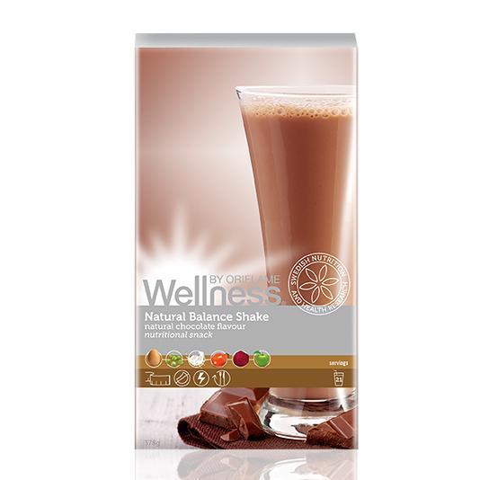 (22138)Сухая смесь для коктейля «Нэчурал Баланс» натуральный шоколадный вкус