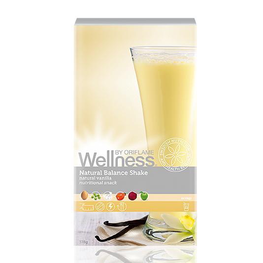 (15448)Сухая смесь для коктейля «Нэчурал Баланс» натуральный ванильный вкус