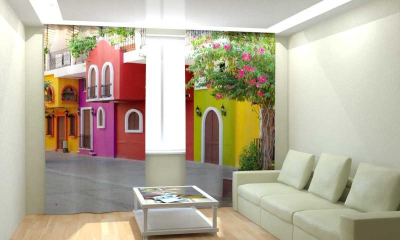 Красочный дом