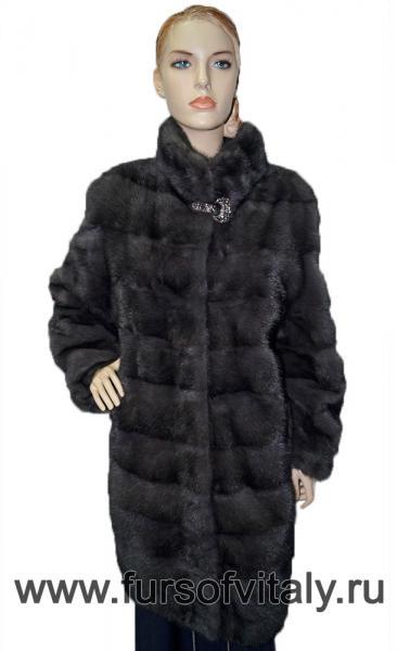 Фото Норковые шубы / Новогодние скидки 10 - 50%, Полушубок из норки Полушубок из норки, модель