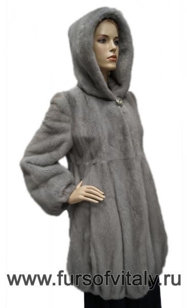 Фото Полушубки, Норковые полушубки  Полушубок из норки, модель