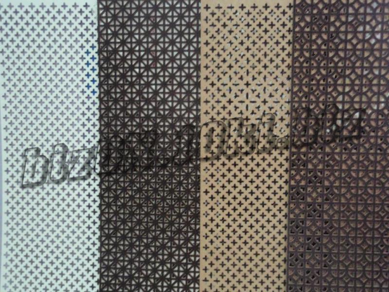 Фото Решетки ПВХ и Экраны ХДФ (МДФ) для радиаторов отопления и декора «ОНТАРИО»    перфорированная декоративная панель МДФ для радиаторов отопления (батарей) и интерьера