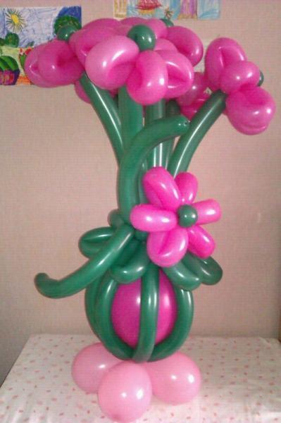 букет цветов из 5 цветов