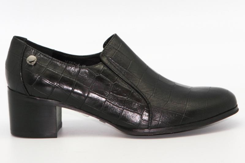 Ботинки Renaissance 14106Z-4-5K чёрный крокодил