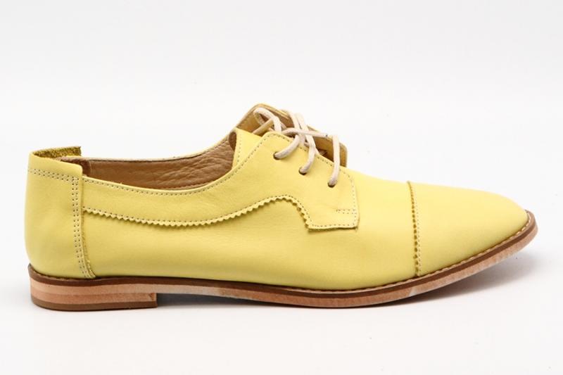 Ботинки Enisse 2000 желтый кожа