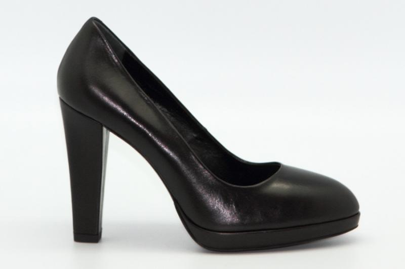 Туфли Marco Rizzi 24005 чёрный кожа