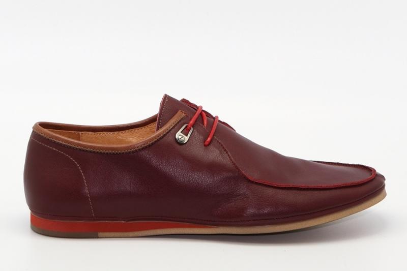 Мужские туфли 416439/03#3 бордовый кожа
