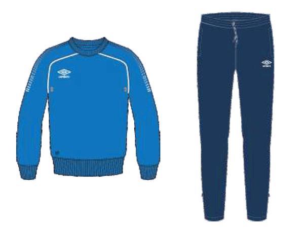 Тренировочный костюм 350415 Prodigy Team Poly Suit (791) сине-темносине-белый