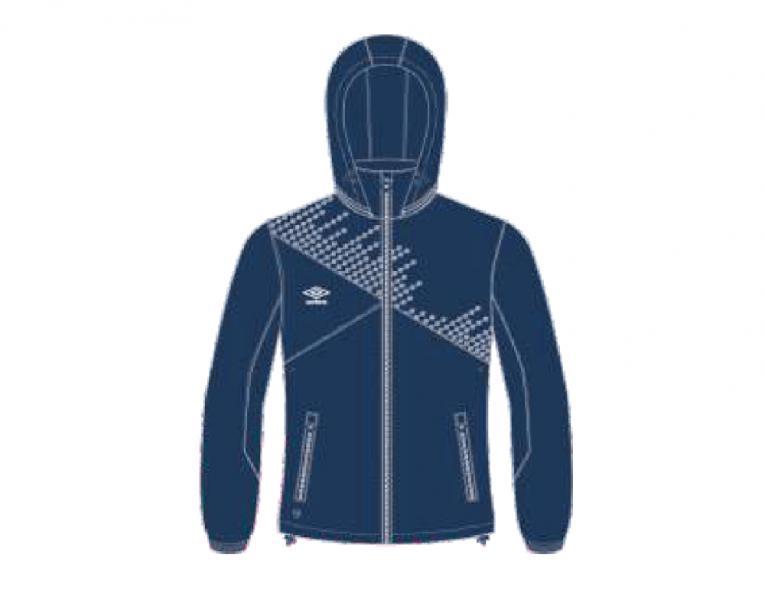 Ветрозащитная куртка 410115 Armada Shower Jacket (911) темносине-бело-белый