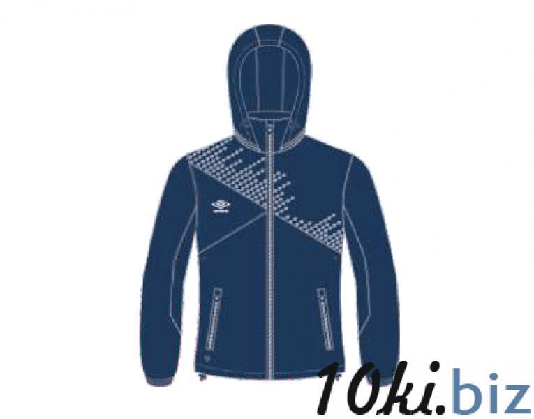 Ветрозащитная куртка 410115 Armada Shower Jacket (911) темносине-бело-белый  Мужская спортивная одежда в России
