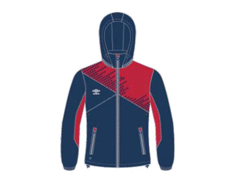 Ветрозащитная куртка 410115 Armada Shower Jacket (921) темносине-красно-белый