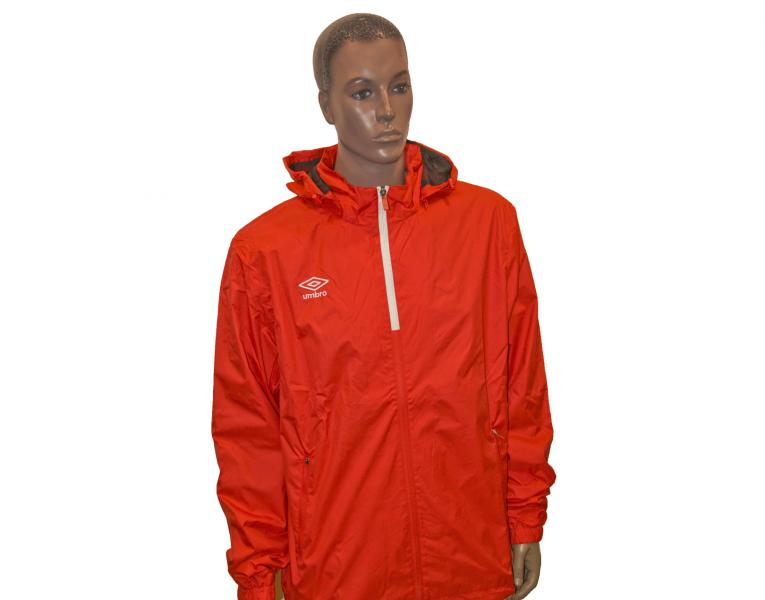 Ветрозащитная куртка 410214 Trofeo Shower Jacket (021) красно-белый