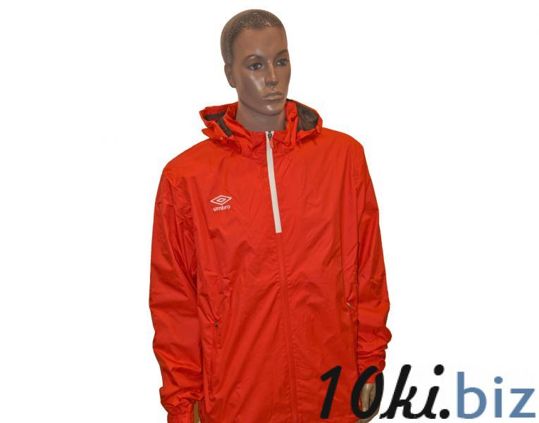 Ветрозащитная куртка 410214 Trofeo Shower Jacket (021) красно-белый  Мужская спортивная одежда в России