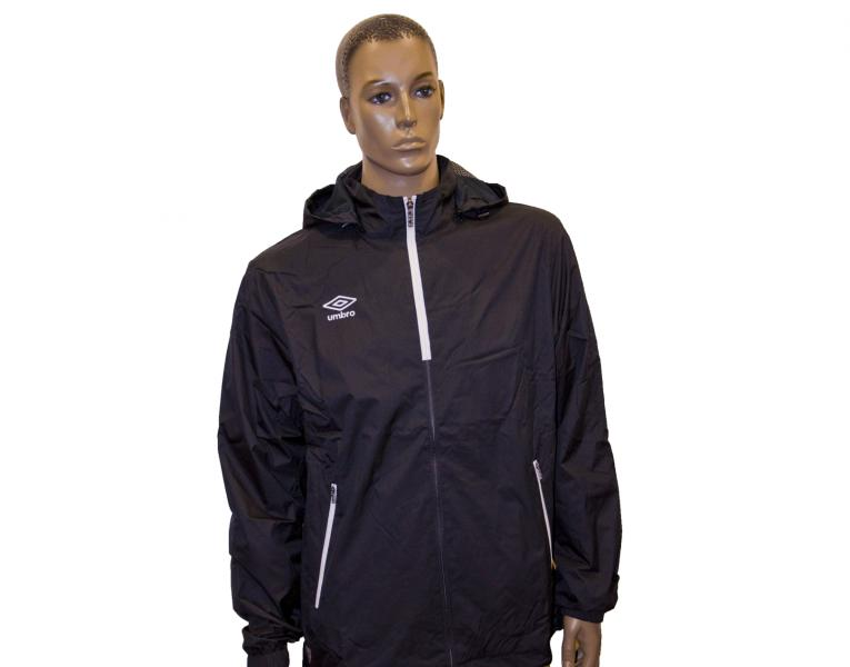 Ветрозащитная куртка 410214 Trofeo Shower Jacket (611) черно-бело-белый