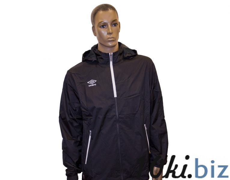 Ветрозащитная куртка 410214 Trofeo Shower Jacket (611) черно-бело-белый  Мужская спортивная одежда в России