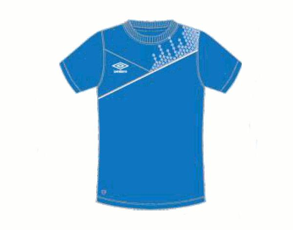 Футболка тренировочная 310115 Armada Cotton Tee (711) сине-бело-белый