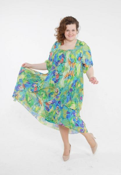 Двойка (платье + сарафан) CD 2749