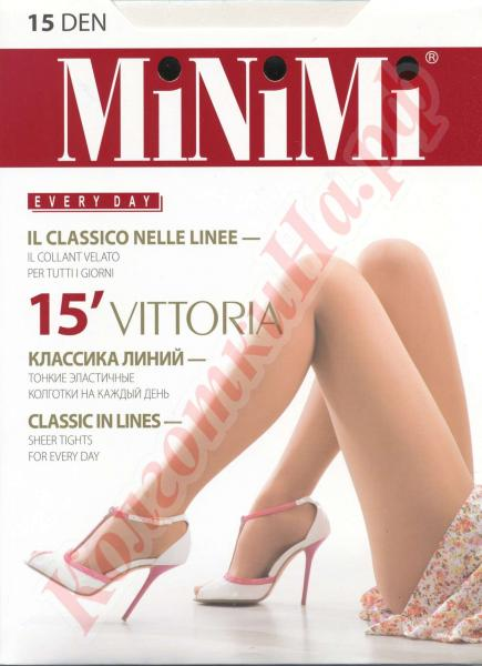 Колготки классические MiNiMi Vittoria 15 Код товара: К-490