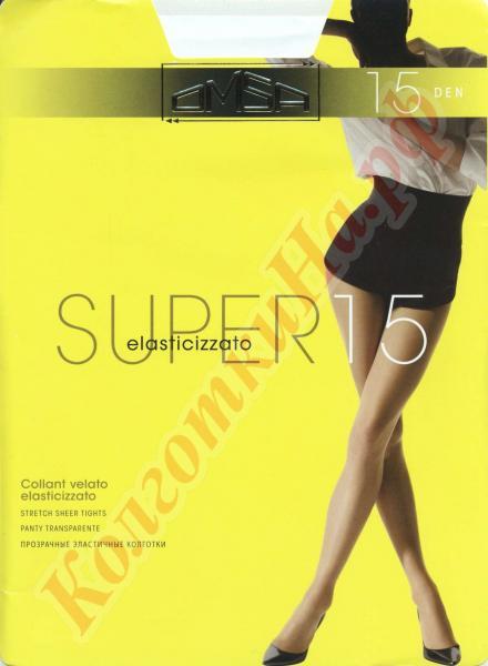 Колготки классические Omsa Super 15 Код товара: К-482
