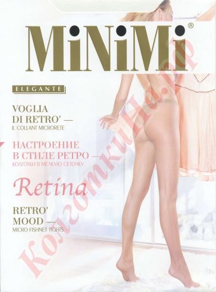 Колготки сетка MiNiMi Retina Код товара: К-445