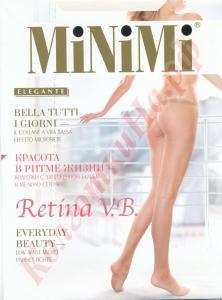 Фото для Дам, Колготки, Колготки модные Колготки сетка MiNiMi Retina V.B. (vita bassa) с заниженной талией Код товара: К-446