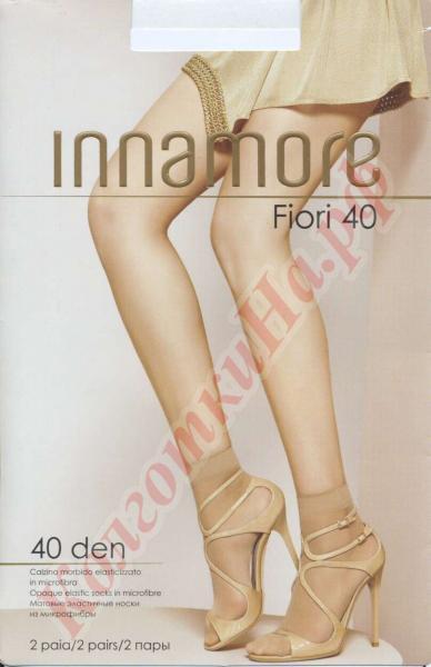 Носки из микрофибры INNAMORE Fiori 40 den calzino Код товара: К-433