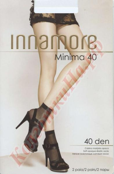 Носки полиамидные INNAMORE Minima 40 den calzino Код товара: К-428