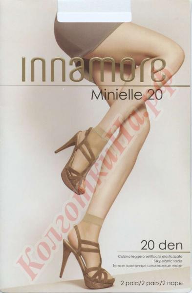 Носки капронвые INNAMORE Minielle 20 den calzino Код товара: К-276