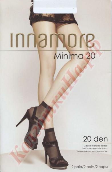 Носки полиамидные INNAMORE Minima 20 den calzino Код товара: К-427