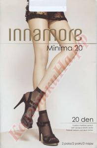 Фото для Дам, Носки женские Носки полиамидные INNAMORE Minima 20 den calzino Код товара: К-427