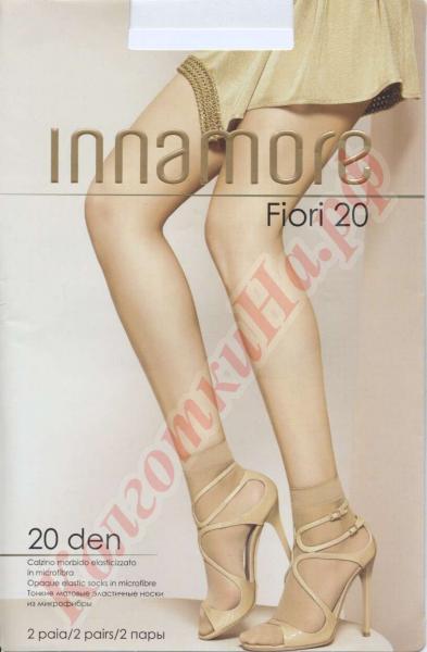 Носки из микрофибры INNAMORE Fiori 20 den calzino Код товара: К-429