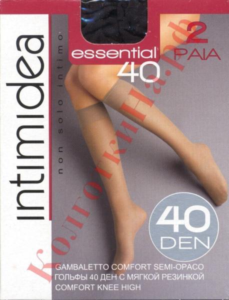 Гольфы классические Intimidea Essential 40 gambaletto Код товара: К-272