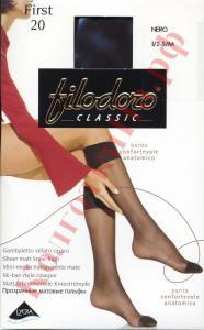 Фото для Дам, Гольфы женские Гольфы со специальной резинкой Filodoro First 20 Код товара: К-263