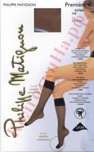 Фото для Дам, Гольфы женские Гольфы со специальной резинкой Philippe Matignon Premiere 40 mi-bas Код товара: К-268