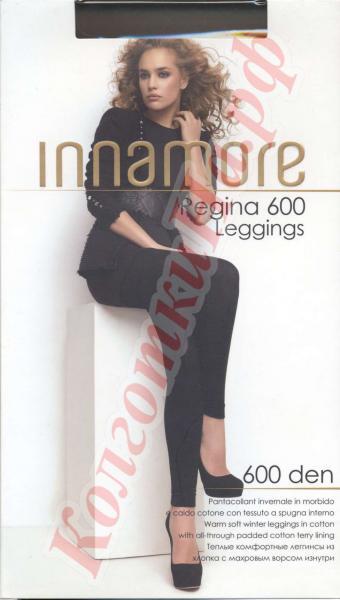 Леггинсы тёплые махровые из хлопка INNAMORE Regina 600 Leggings Код товара: К-395