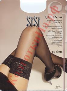 Фото для Дам, Чулки Чулки классические SiSi Queen 20 Код товара: К-157