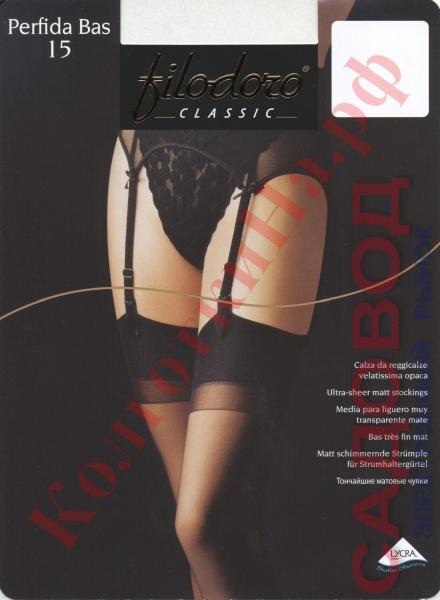 Чулки классические под пояс Filodoro Perfida 15 bas Код товара: К-149