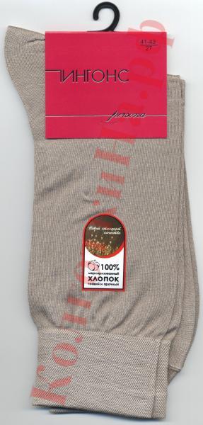 Носки мужские летние тонкие хлопковые (100 % мерсеризованный хлопок) однотонные Пингонс Persona 3В1 Код товара: К-300
