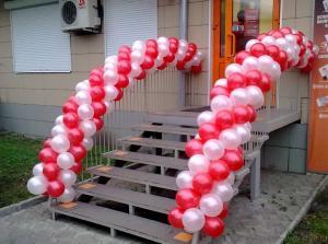 Фото Арки из шаров арка