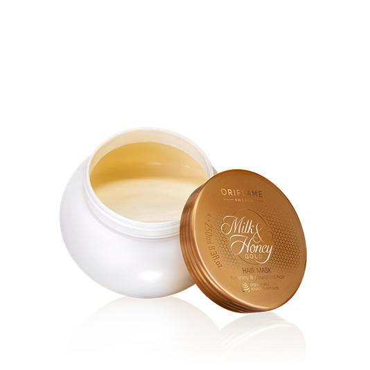 (31710)Маска для волос «Молоко и мед – Золотая серия»