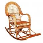 Фото Детская мебель, спальни и мебель из лозы, Мебель из лозы Кресло-качалка КК-10