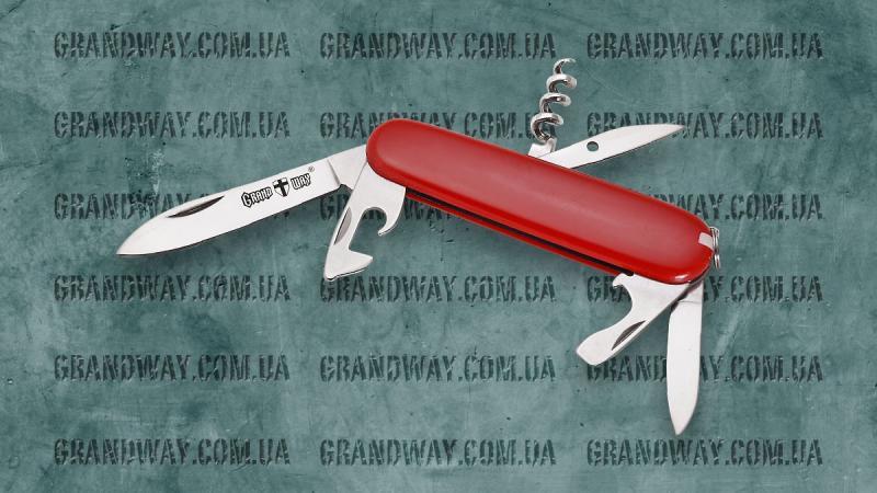 Нож многофункциональный E-56 (в чехле)