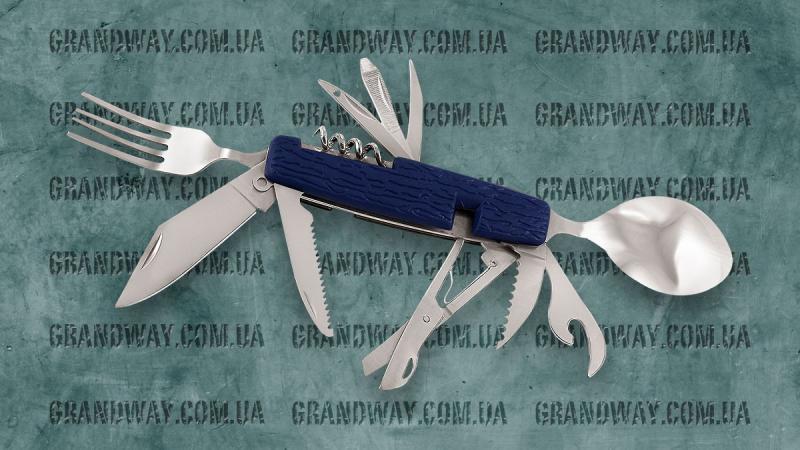 Нож многофункциональный YK-012 (в чехле)